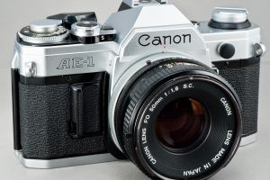 Canon AE 1 35 MM Film Camera