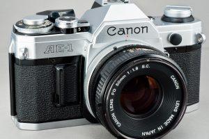 Canon AE 1 35 MM Film Camera