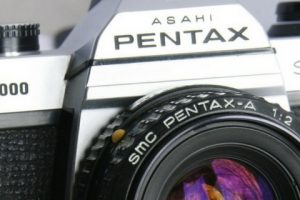 Pentax Asahi K1000 SLR 35mm Film Camera